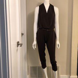 Michael Kors - Jersey Jumpsuit with Chain Belt